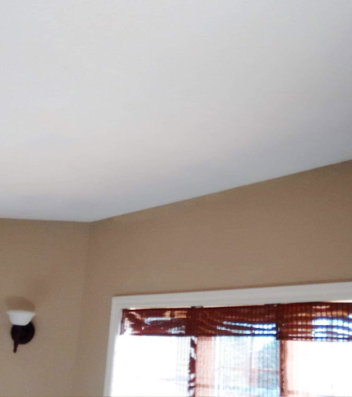Edmonton Alberta ceiling water damage repair